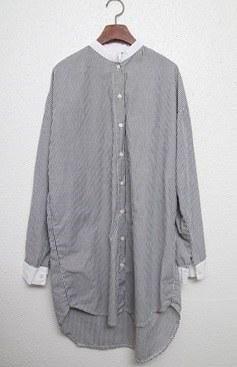 China blouse -dark grey