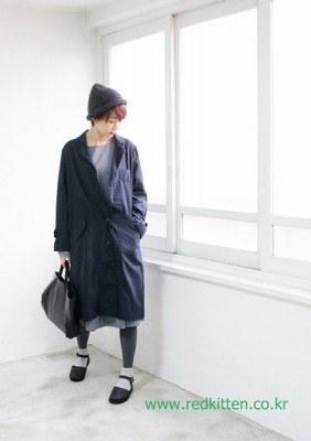 Natural Wellness long coat -2Color