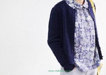 Twist cardigan -Ivory