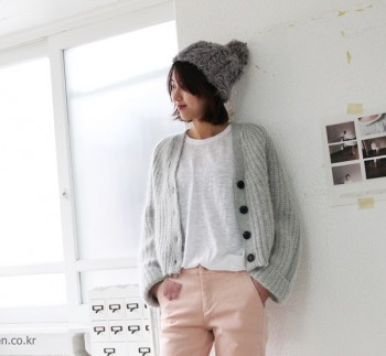 Mook stylish cardigan -Gray79800--45000