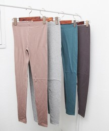 Cotton spandex leggings too easy 10Color [Red Cat Site]
