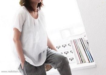 Matjureum linen blouse -4Color