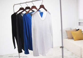 Linen long-sleeve -4Color