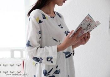 Matjureum printing dress -2Color