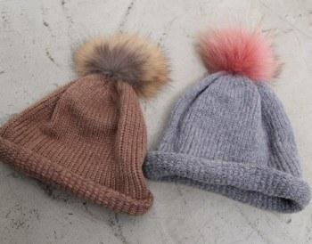 Doldolyi drops knit cap -2Color