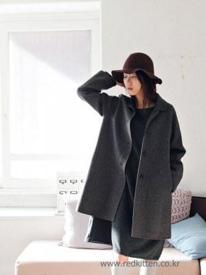 Handmade Classic Coat -2Color