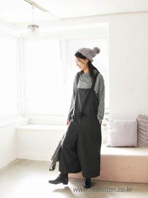 Woolen overalls -2Color