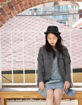 Simple field image jacket until the summer wears ~~