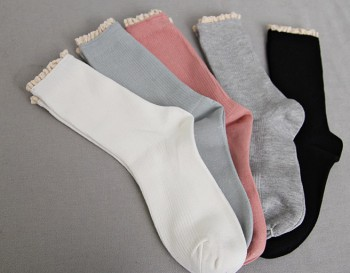 Lace socks -2 pairs set