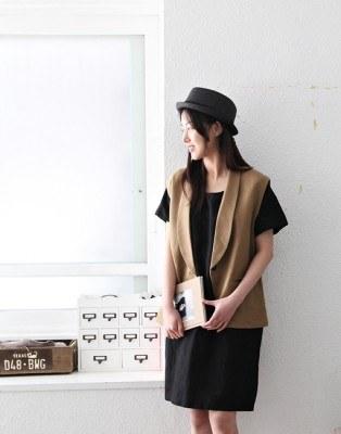 Linen dress jar -4Color