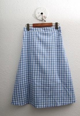 A line check skirt