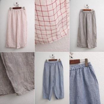 Pretty Check Underpants - 3Color