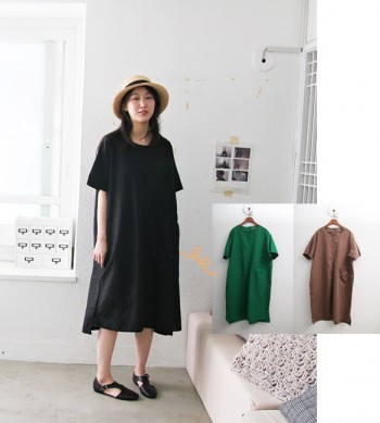 Three Pocket Dresses-3Color