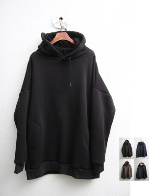 Tumbled Hooded Tee-5Color