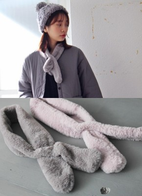 Cute muffler -2Color