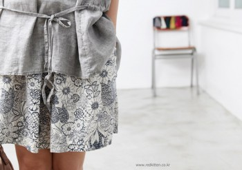 Sale - flower band skirt