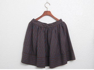 Sale - Stripe Skirt