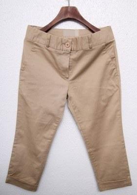 Basic Pants - Beige (small)