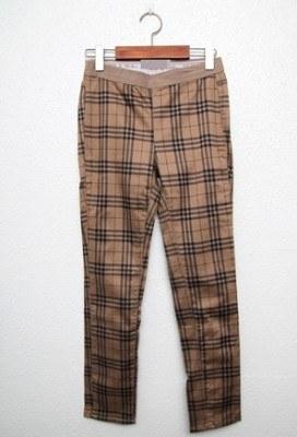 Sail - Check Pants (Medium)