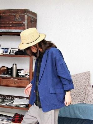 Linen Flo jacket -2Color