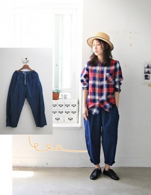 Line Pants -3Color