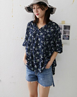 Blossom Shearing Blouse -3Color
