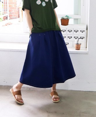 Wing Singing Pinch Skirt-2Color