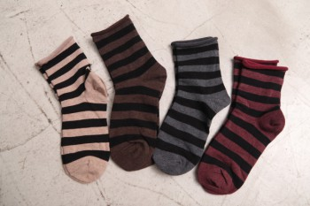 Striped Stripe Socks-2