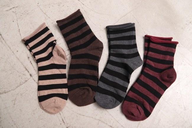 Striped Stripe Socks-2