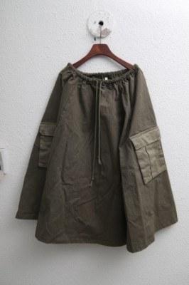 Nine Pocket Skirt-2Color