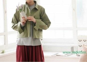 Jacket Stainless Pocket Shirt 47800 -> 37800 - Khaki