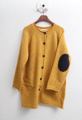 Wool Neff Long Cardigan-4Color