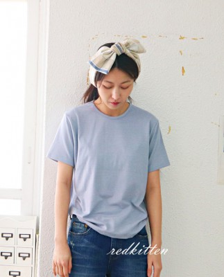 Soft Short Sleeve Tee-2Color