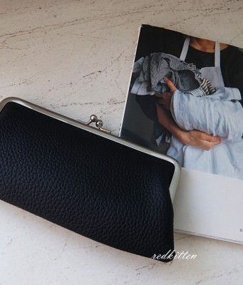 Frame Leather Wallet -Cowhide