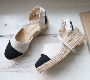 Wedge sandals-7 inches