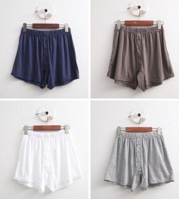 Soft cotton shorts