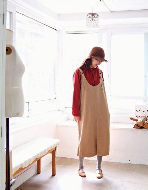 Suspenders Dress-2Color