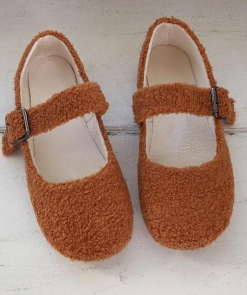 Cute Fur Shoes-2Color