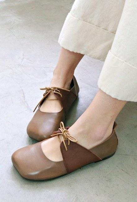 Soft cowhide shoes